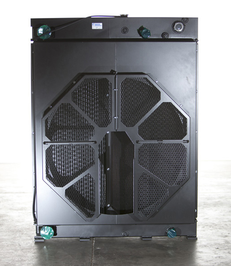 Large Bolted Radiator - Fan Side