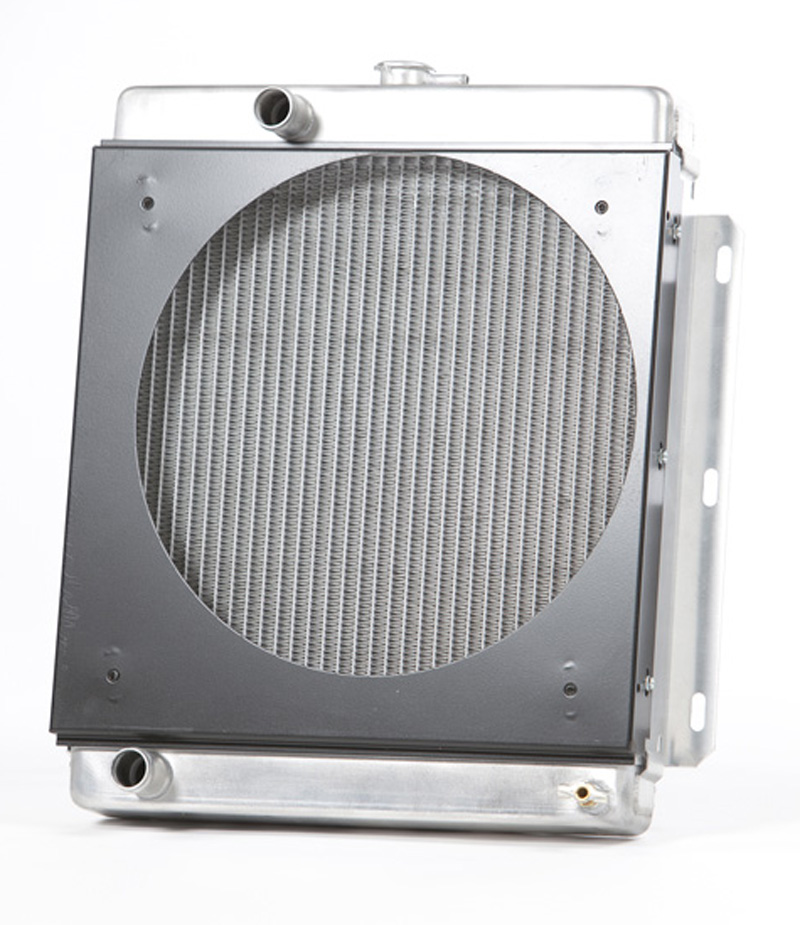 Aluminum Radiator with Shroud