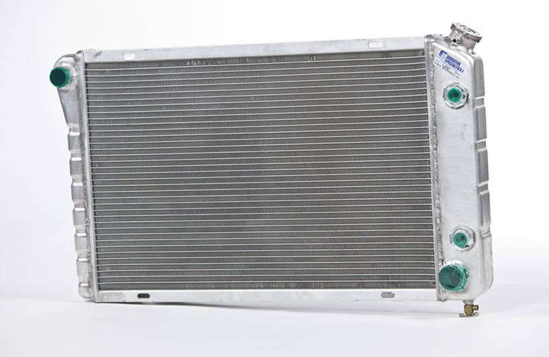 Aluminum Radiator with Formed Tanks